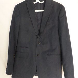 JF J. FERRAR, striped suit jacket, slim fit, 38R